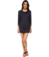 MICHAEL Michael Kors - Boho Solids Shirred Cover-Up