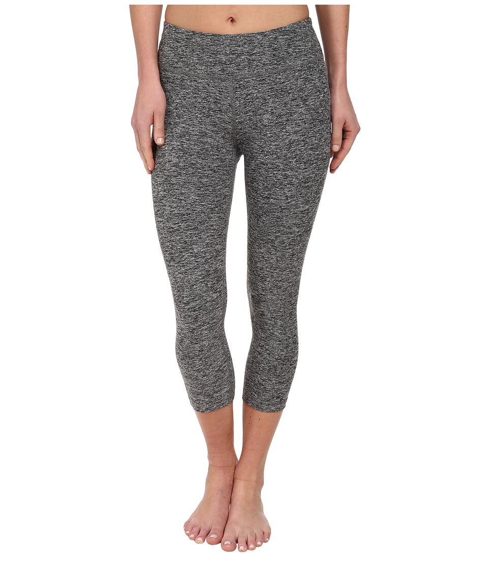 Beyond Yoga - Capri Legging (Black Spacedye) Womens Capri