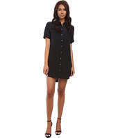EQUIPMENT - Short Sleeve Slim Signature Dress
