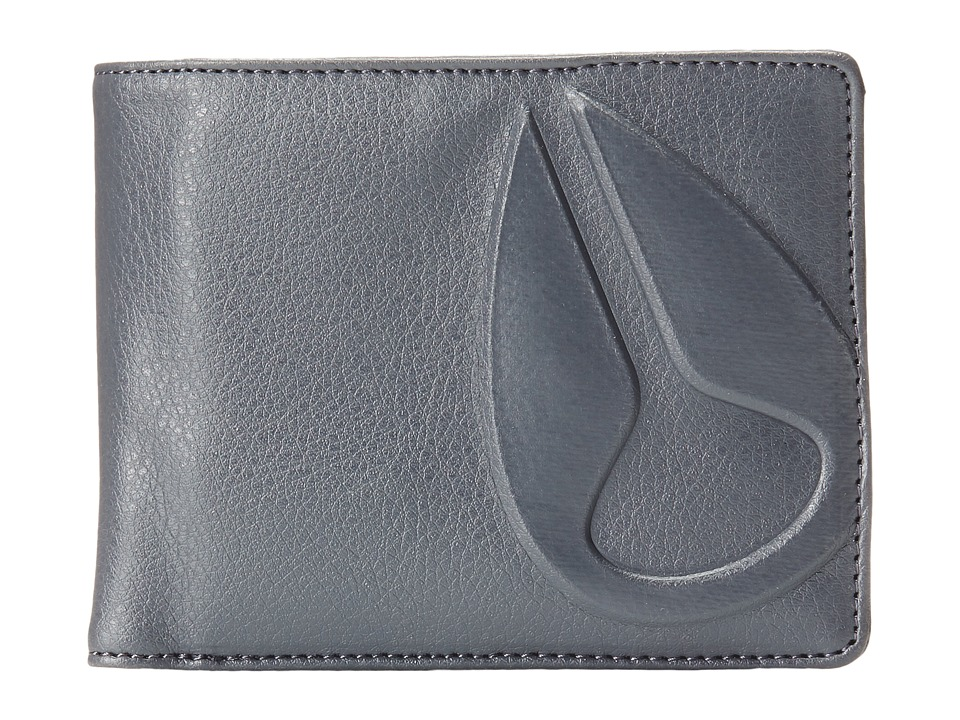 Nixon - Haze International Wallet (Charcoal) Bi-fold Wallet
