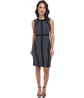 Donna Morgan - Sleeveless Pique Bodycon with Piping Dress