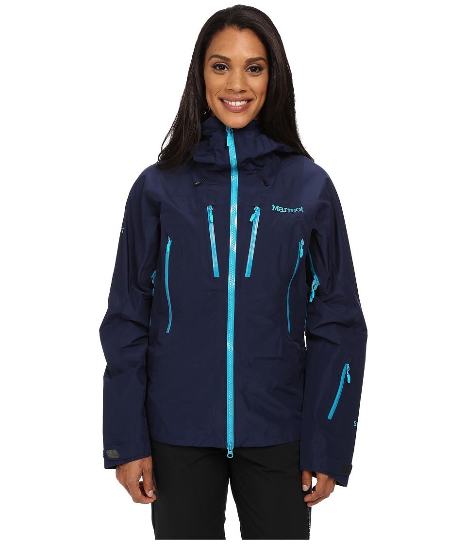 Marmot Alpinist Jacket Arctic Navy Womens Clothing
