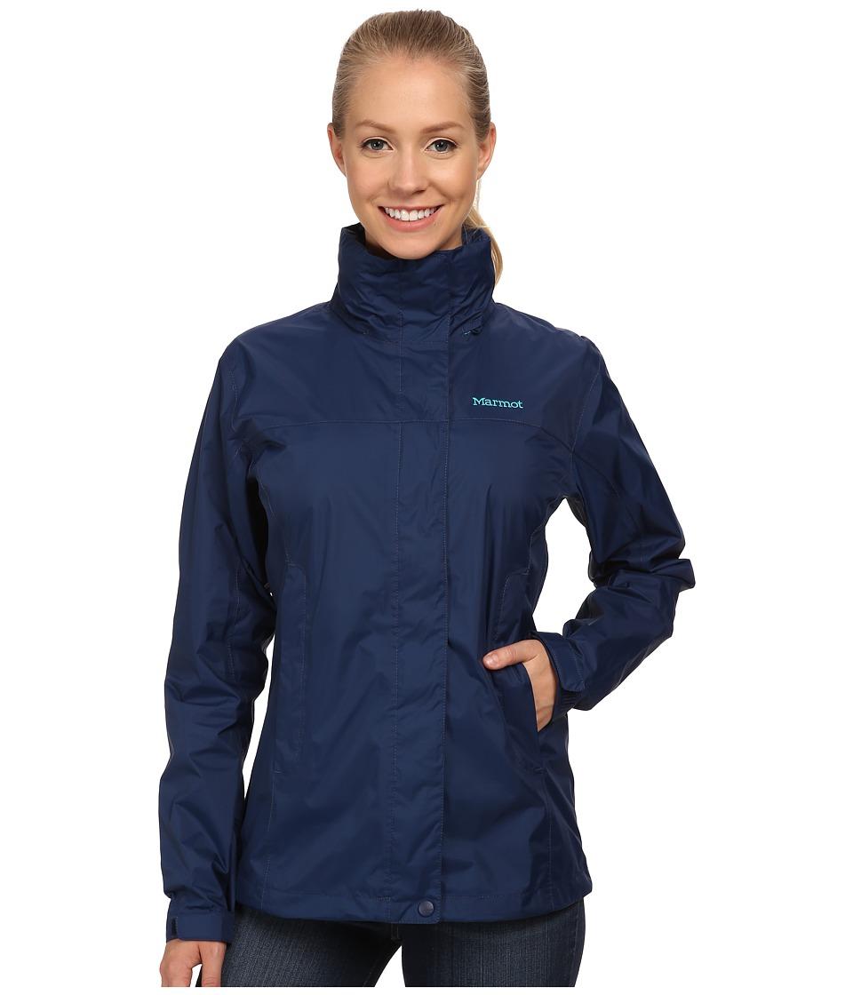 Marmot PreCip Jacket (Arctic Navy) Women