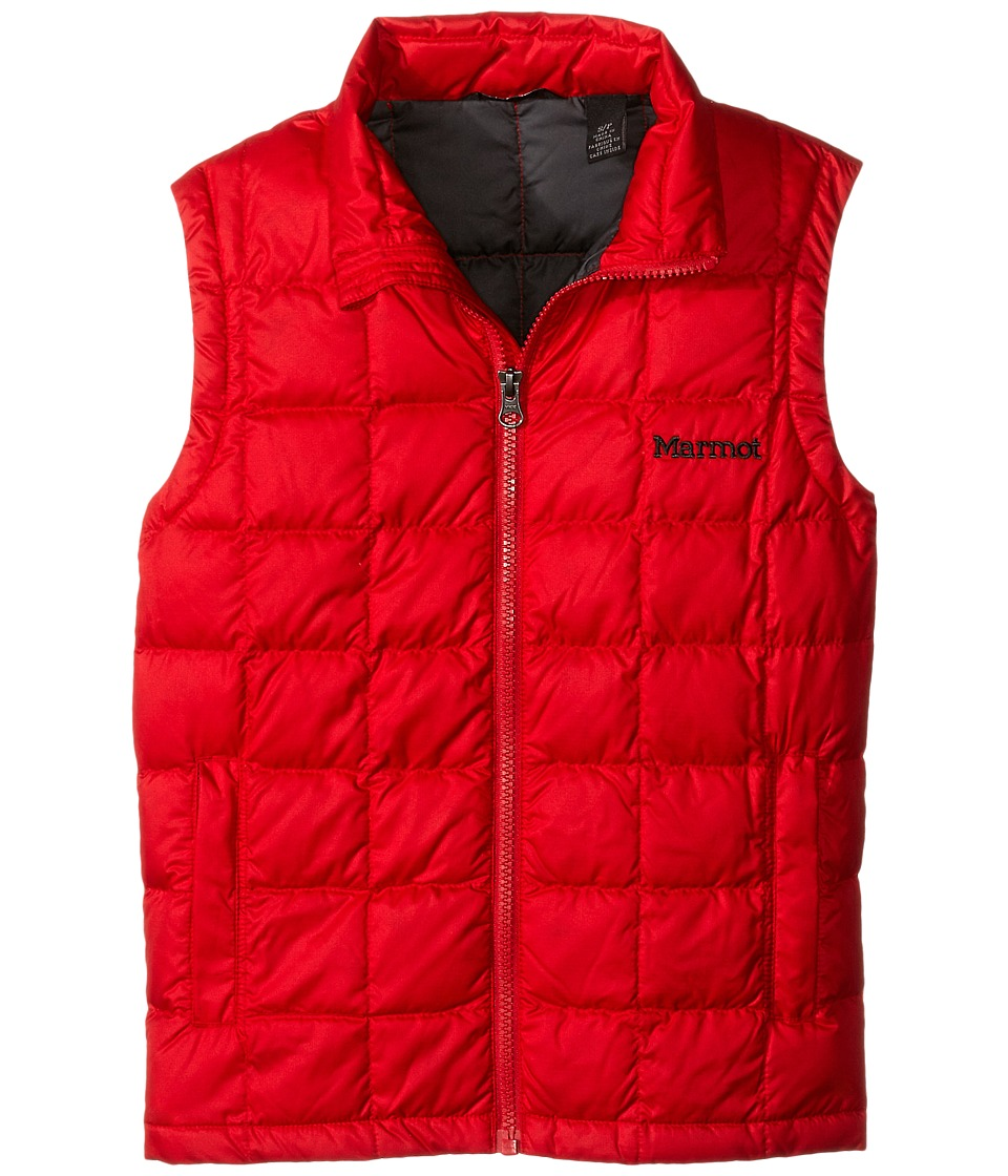 Marmot Kids Ajax Vest Little Kids/Big Kids Team Red Boys Vest