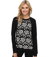 Sam Edelman - Fabric Mix Raglan Sweatshirt