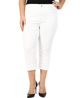 NYDJ Plus Size - Plus Size Dayla Wide Cuffed Capri