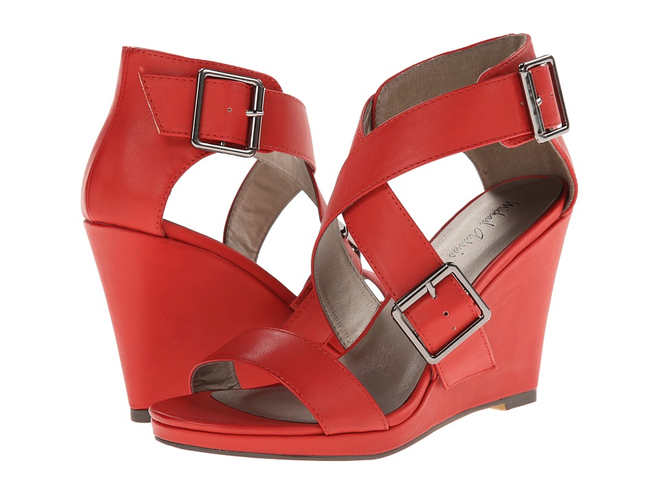 Michael Antonio Kendrick (Red) Women's Wedge Shoes