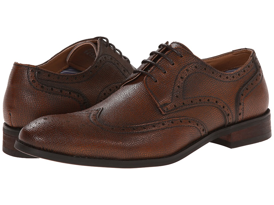 Robert Wayne - Nile Rust Saffiano Mens Lace up casual Shoes $109.95 AT vintagedancer.com