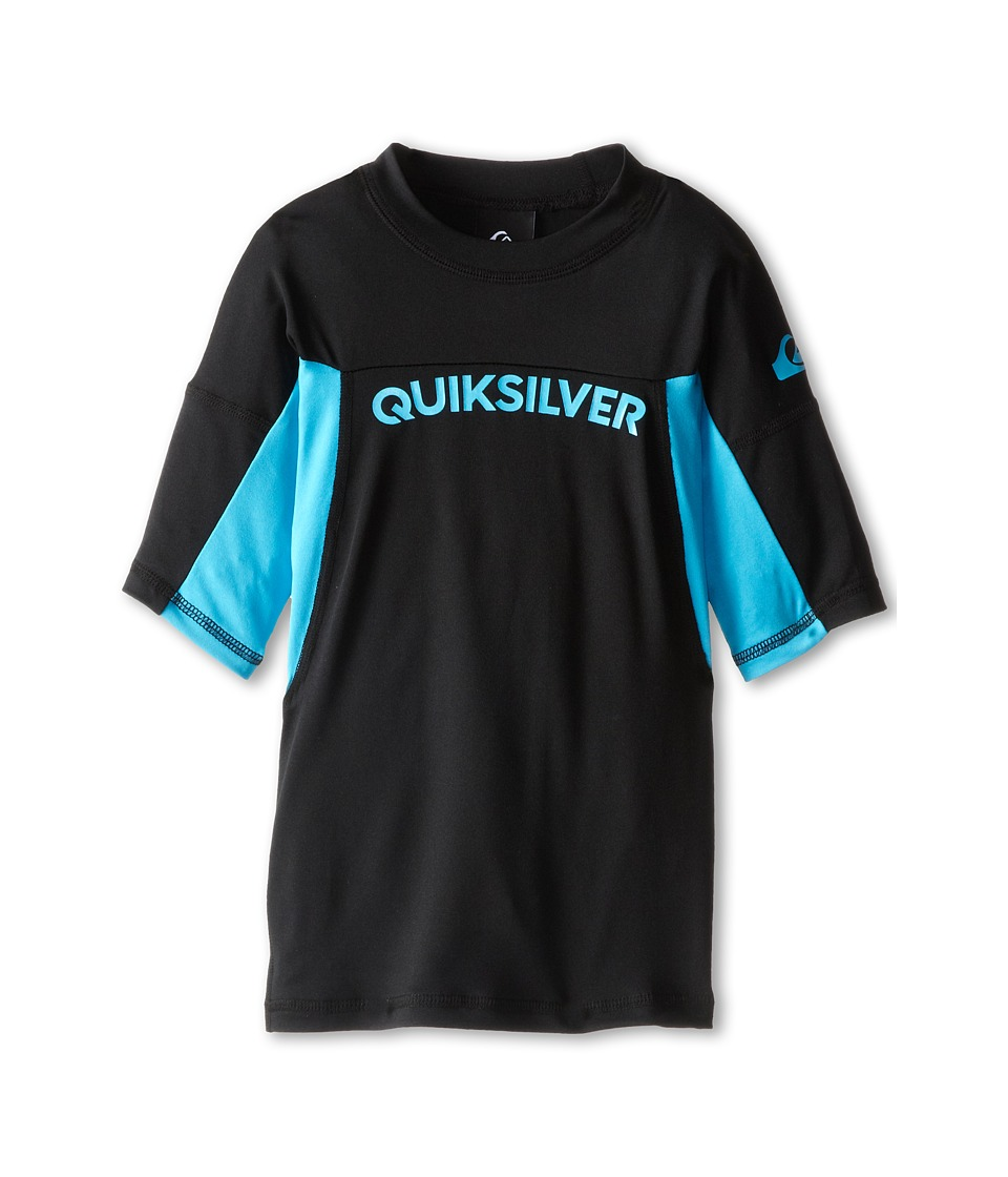 Quiksilver Kids Performer Surfshirt Rashguard Big Kids Hawaiian Ocean Boys Swimwear