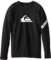 Quiksilver Kids - All Time Long Sleeve Surfshirt Rashguard (Big Kids)