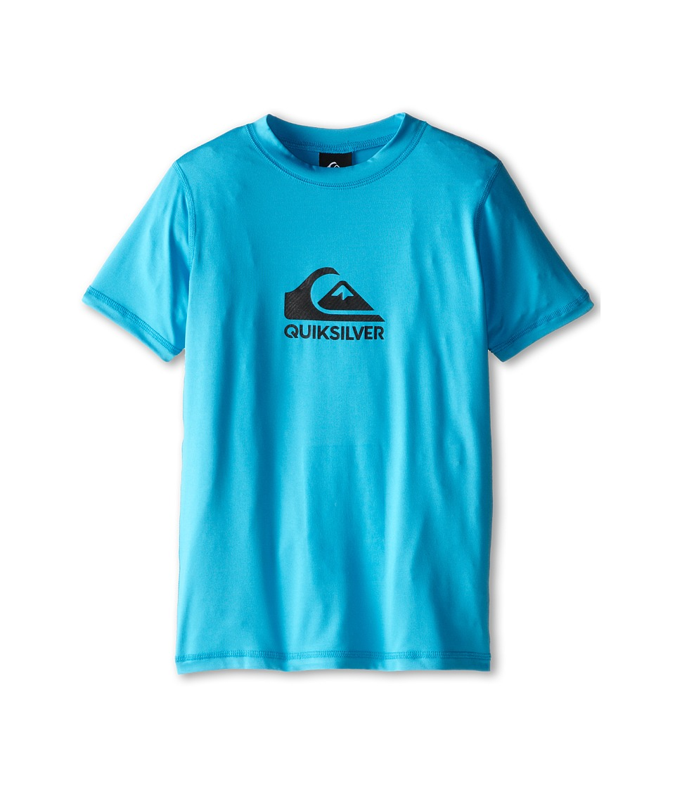 Quiksilver Kids Solid Streak Rashguard Big Kids Hawaiian Ocean Boys Swimwear