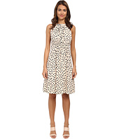 Kate Spade New York - Leopard Dot Tie Back Dress