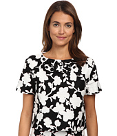 Kate Spade New York - Graphic Floral Crop Top