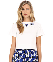 Kate Spade New York - Embellished Crop Top