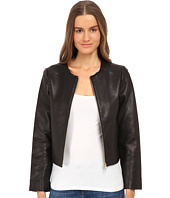 Kate Spade New York - Zip-Up Leather Jacket