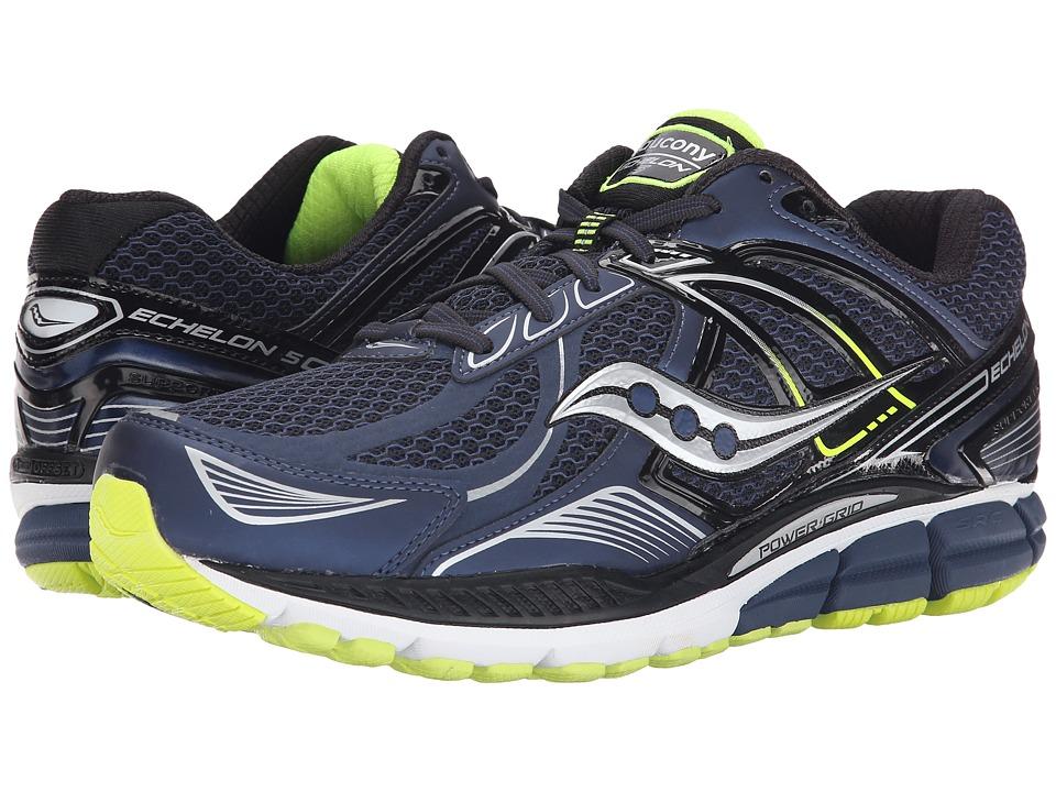 Saucony Echelon 5 (Navy/Black) Men's Running Shoes