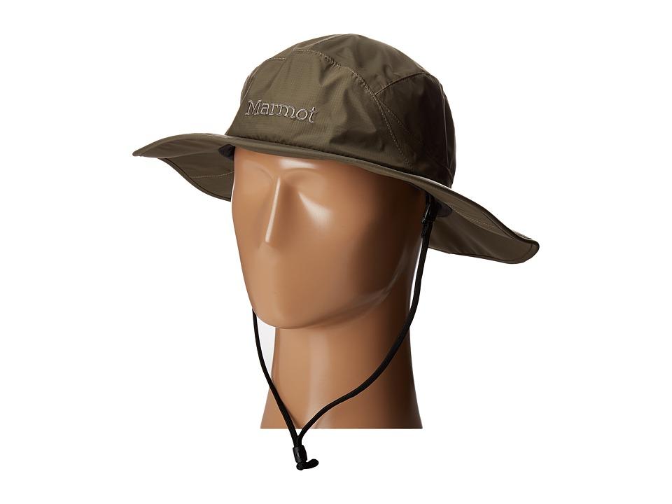 Marmot - PreCip Safari Hat (Deep Olive) Safari Hats