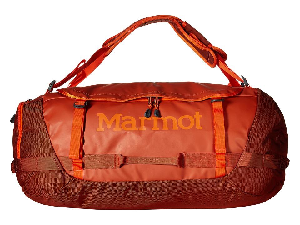 Marmot - Long Hauler Duffle Bag Large (Rusted Orange/Mahogany) Duffel Bags