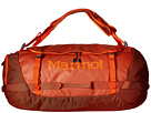 Marmot Long Hauler Duffle Bag Large (Rusted Orange/Mahogany)
