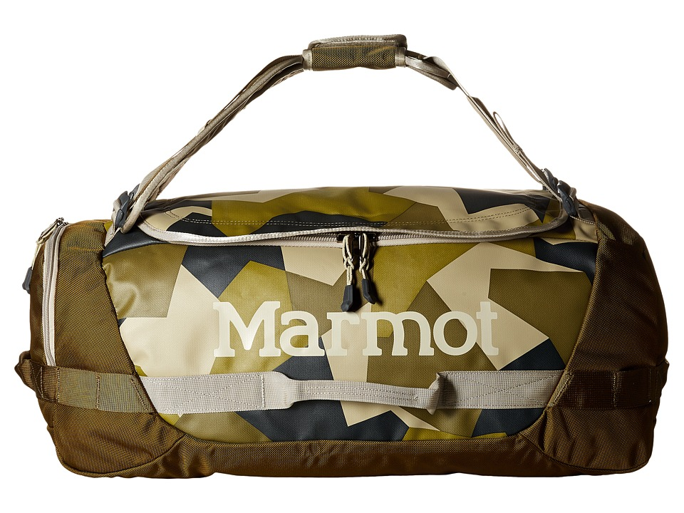 Marmot - Long Hauler Duffle Bag (Fragment Camo/Brown Moss) Duffel Bags