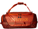 Marmot Long Hauler Duffle Bag (Rusted Orange/Mahogany)