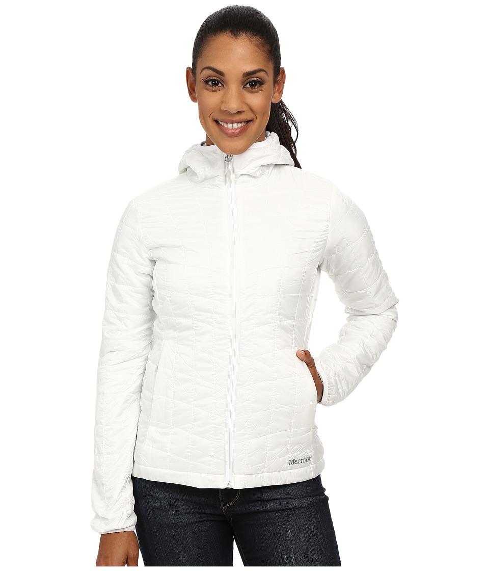 Marmot Calen Hoodie White Womens Sweatshirt