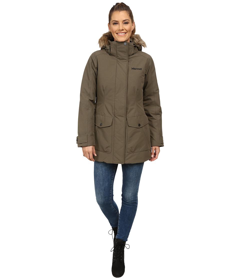 Marmot Geneva Jacket Deep Olive Womens Coat