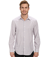 Perry Ellis - Long Sleeve Mini Plaid Shirt