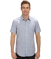 Perry Ellis - Short Sleeve Check Pattern Shirt