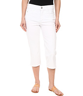 NYDJ Petite - Petite Ariel Crop Twill in Optic White