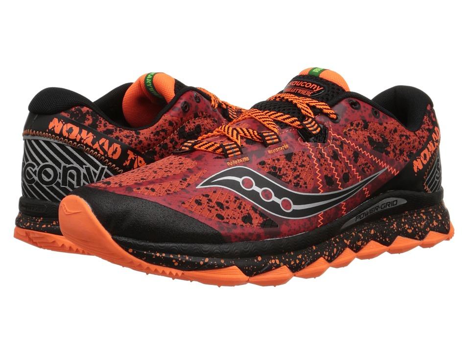 Saucony - Nomad TR (Red/Black/Orange) Mens Running Shoes