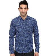 BOSS Orange - Extreme Slim Fit Long Sleeve Shirt in Camu-Flower Print