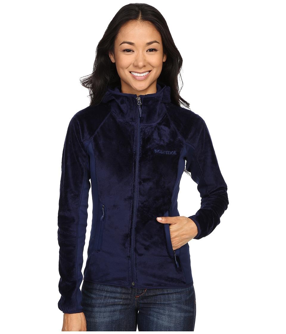 Marmot - Luster Hoodie (Arctic Navy) Womens Sweatshirt