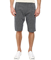 BOSS Orange - Stimo1-Shorts-W Tapered Fit Linen Cotton Canvas Shorts