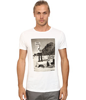 BOSS Orange - Tavey 5 Fashion Fit Washed Pima Cotton Graphic Tee