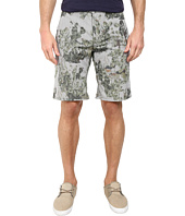 BOSS Orange - Sairy-Shorts-W Slim Fit Cactus Printed Summer Stripe Shorts