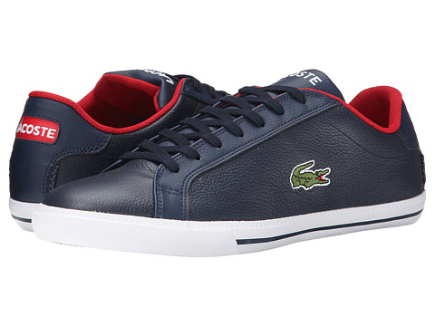 Lacoste Grad Vulc TS - Dark Blue/Red