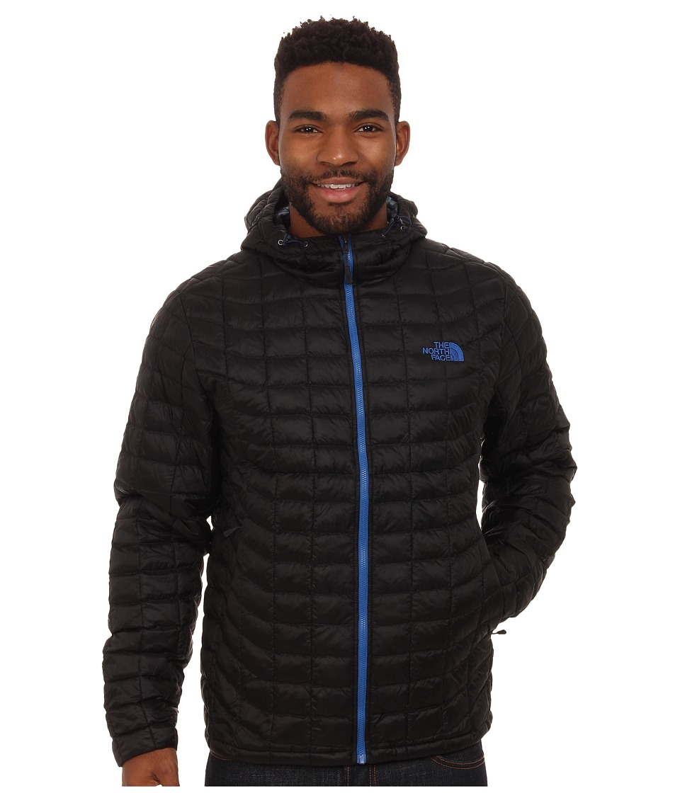 The North Face - ThermoBalltm Hoodie (TNF Black/Monster Blue) Mens Sweatshirt