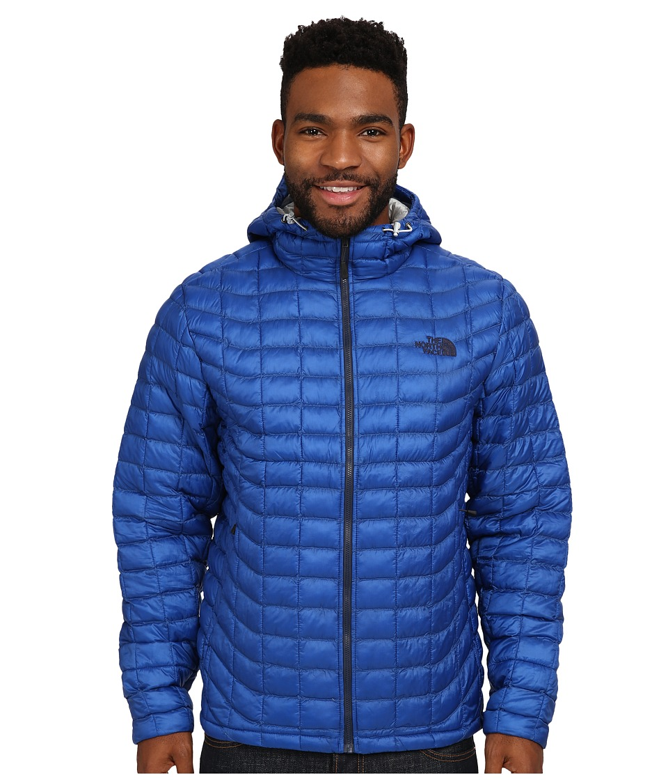 The North Face - ThermoBall Hoodie (Monster Blue) Men