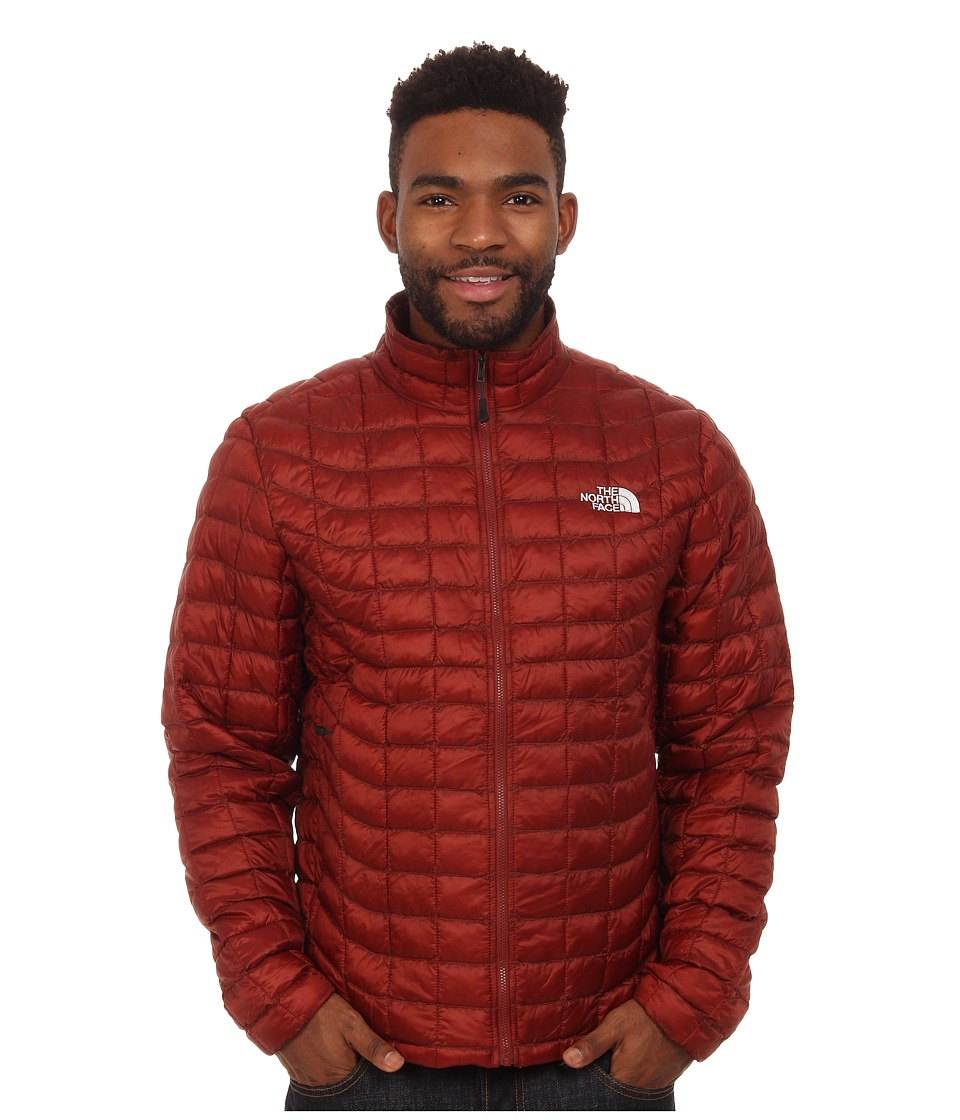 The North Face - ThermoBall Full Zip Jacket (Brick House Red) Men