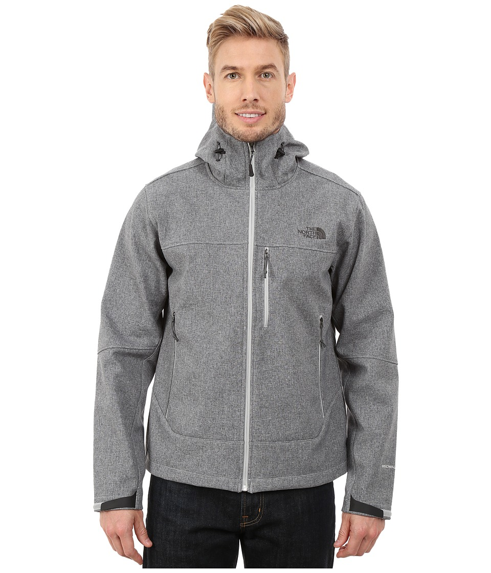 The North Face - Apex Bionic Hoodie (High Rise Grey Heather) Men