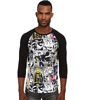 Marc by Marc Jacobs - Comic Print Repeat Jersey 3/4 Sleeve