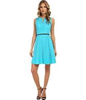 Calvin Klein - Scalope Eyelet Dress