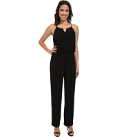 Calvin Klein - Solid Double Layer Jumpsuit w/ Hardware