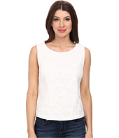 Vince Camuto - Sleeveless Crop Shell