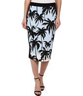 Vince Camuto - Palm Horizon Pencil Skirt w/ Solid Trim