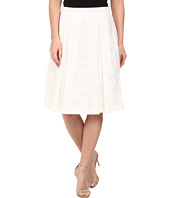 Vince Camuto - Knee-Length A-Line Skirt w/ Front Pleats
