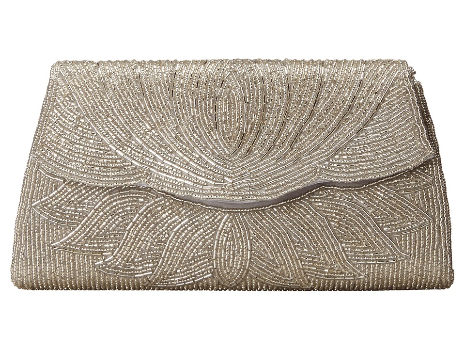 Nina - Hagar (Silver) Clutch Handbags