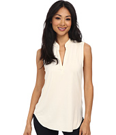 Three Dots - Sleeveless V-Neck Top