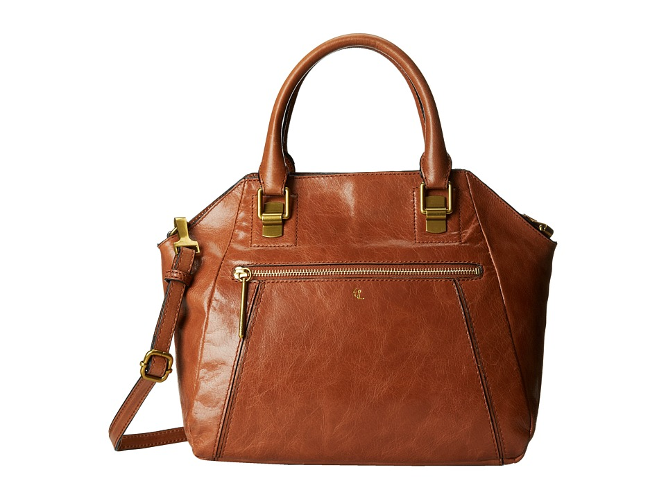 Elliott Lucca - Faro City Satchel (Tobacco) Satchel Handbags